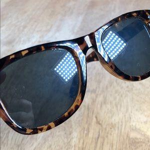 J. Crew tortoise sunglasses